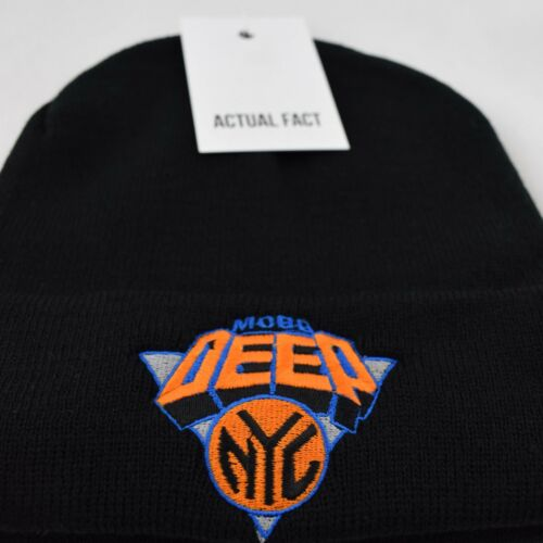 Mobb Deep NYC Knicks Hip Hop Roll up Noir Bonnet en réalité