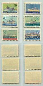 La-Russie-URSS-1959-SC-2181-2186-Z-2210-2215-neuf-sans-charniere-rta4991