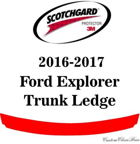 3M Scotchgard Paint Protection Film Clear Bra Pre-Cut 2016 2017 Ford Explorer