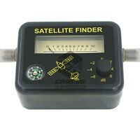 Satellite Signal Finder Fta Directv Strength Meter Antenna Dish With Compass