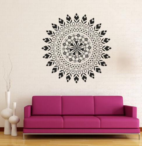 n873 Details about  /Vinyl Decal Wall Sticker Mandala Circle Meditation Relaxation Yoga Studio