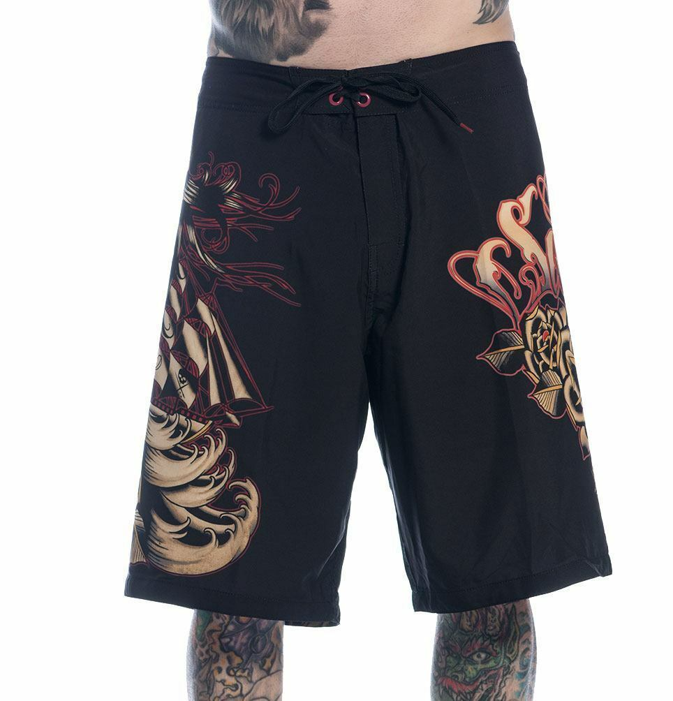 Sea of Sorrows Board Shorts - Men's Shorts