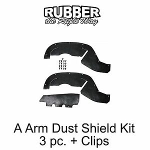 C Ser 3//4 /& 1 Ton 1996 1997 1998 1999 2000 Chevy GMC Truck A Arm Dust Shields