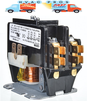 1 Pole 30 Amp Condenser Contactor B1360321 by Replacement for ...