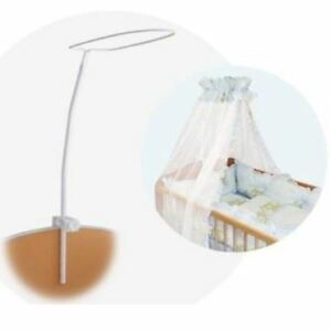 lorelli rideau baldaquin moustiquaire support p le cr che. Black Bedroom Furniture Sets. Home Design Ideas