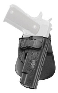 Fobus CH Series Paddle Holster, Right Hand, 1911 Pistols W/O Rail - 1911CH