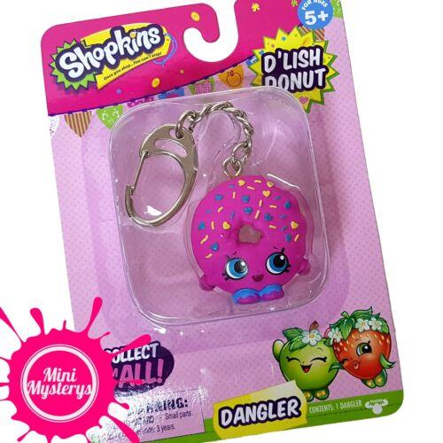 Shopkins PORTE-CLEFS PAPILLONS publicitaires Keychains d/'lish Donut Kooky Cookie Choisissez le vôtre