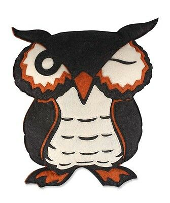 Bethany Lowe - Halloween -Owl Pillow Felt - NA1899