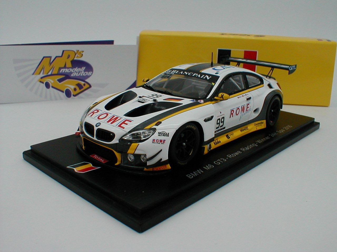 Spark sb175 BMW  m6 gt3 no 99 Winner 24h Race Spa 2016  Sims-Eng' 1 43  jusqu'à 60% de réduction