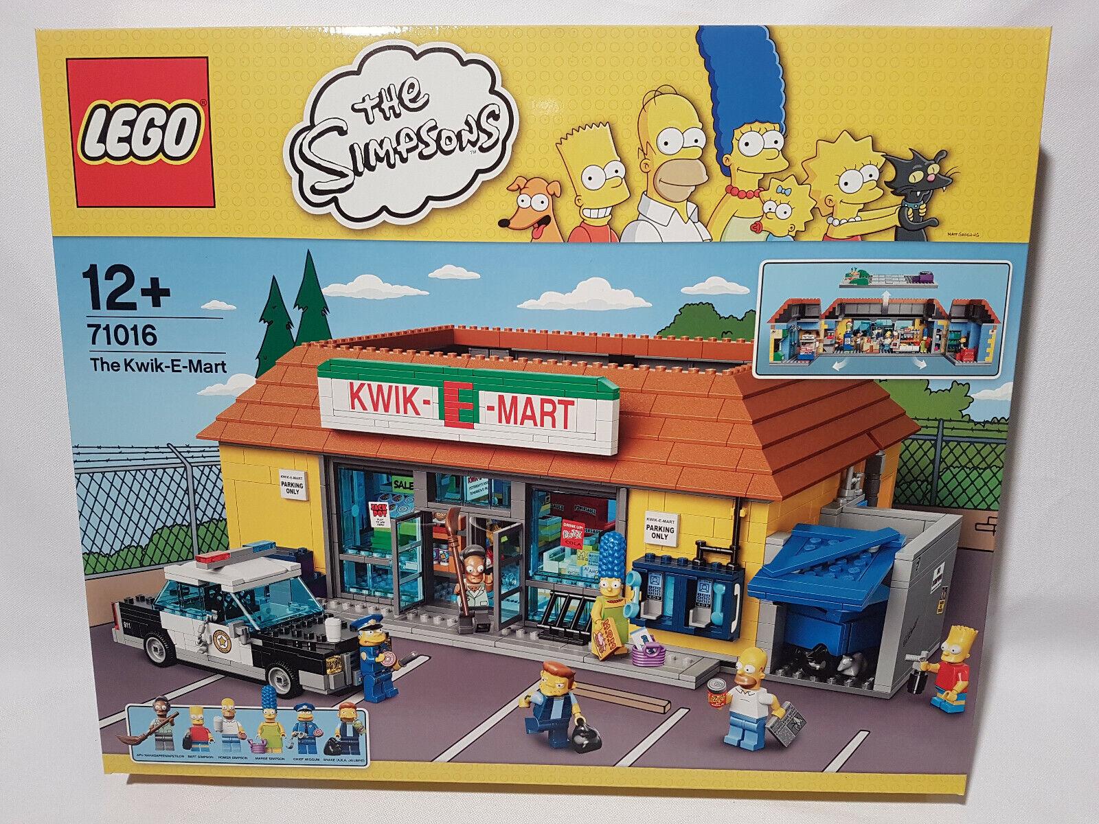 LEGO 71016 SIMPSONS Le Kwik-E-Mart NEUVE, SCELLEE