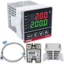 Twidec Mv100 B10 Digital Display Pid Temperature Controllers Thermostat Regulat