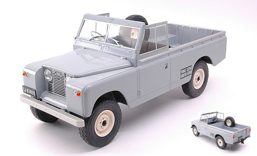 Land Rover 109 Pick Up Serie II Grey 1 18 18 Model MODELCARGROUP