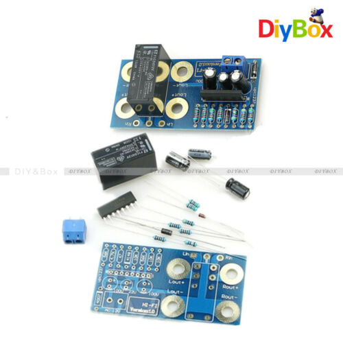 UPC1237 Speaker Protection Dual 2 Channel Boot Delay DIY Kit and Finished Board