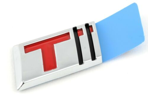 "OEM NEW Trunk Lid Turbo /""T/"" Emblem Badge Chrome Red 12-14 Regal Verano 22744914"