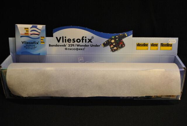 vliesofix / thermofilm de vlieseline 45 cm de large vendu au mètre