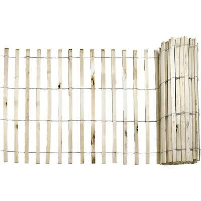 Snow Fence Natural Wood Wooden Slats Protect Sand Dunes Reusable 1//4 x 4 x 50 ft