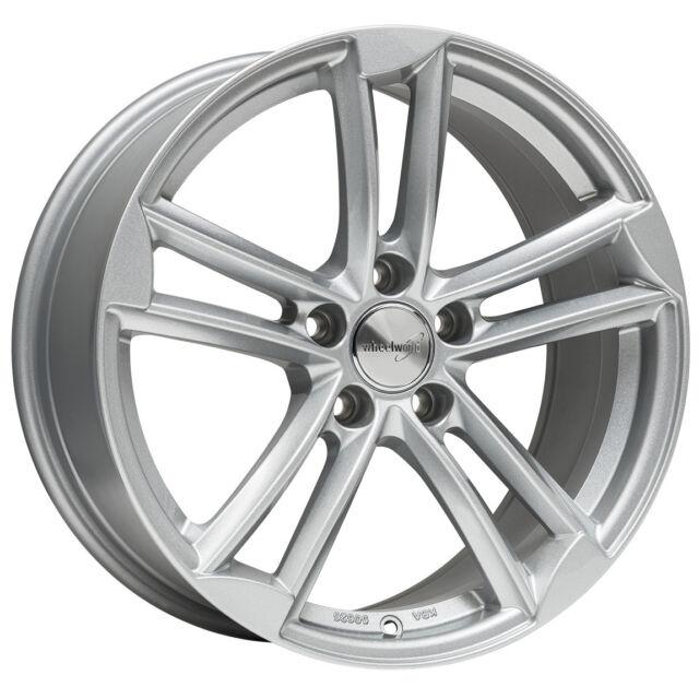 Wheelworld WH27 9x20 5x112 ET37 RS silber Audi A4 A6 A8 Mercedes GLC S- E-Klasse