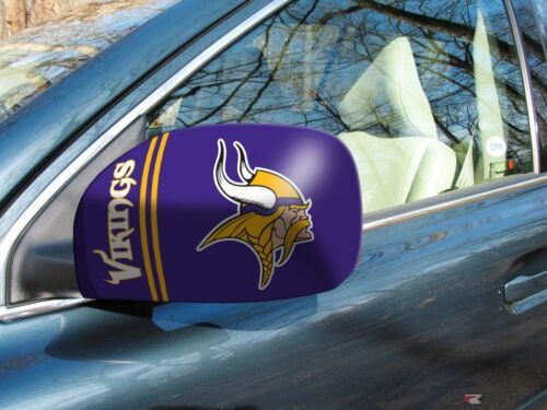 Licensed NFL Minnesota Vikings Car Mirror Covers Cars//Small SUV/'s 2-Pack