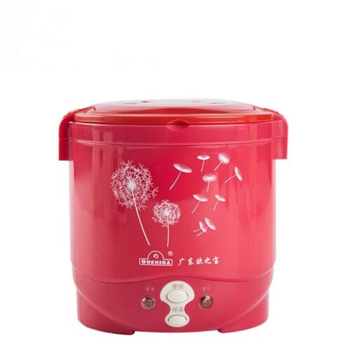 Rice Cooker 12v in Car Suitable two person Steamed pot Cooked Food Custard Soup