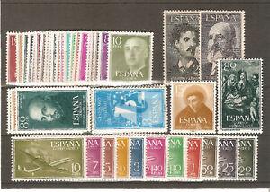 ANO-1955-COMPLETO-ESPANA-NUEVOS