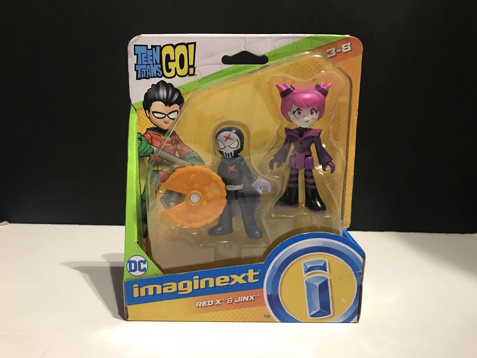 Rari nuovo pescatore prezzo Imaging Teen Titans Go rosso X e Jinx 2 cifra imballaggio