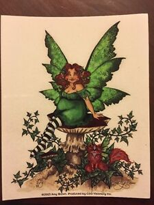 Image Is Loading AMY BROWN FAIRY STICKER 17 4 034 X5
