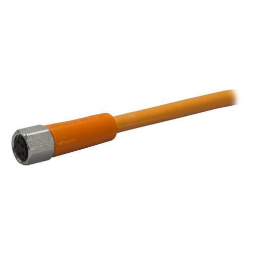 2 m PVC-Kabel gerade 4-polig ifm electronic Sensorleitung M8 EVT134