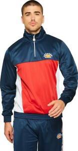 Ellesse-Mens-Track-Top-Jacket-Overhead-Sweatshirt-Vetica-Navy-Blues-Medium