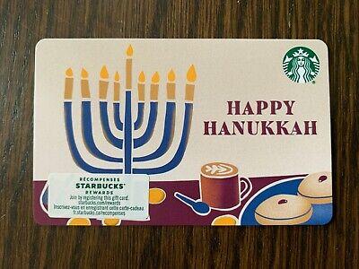 "New No Value Canada Series Starbucks /""STARBUCKS BRAILLE 2020"" Gift Card"