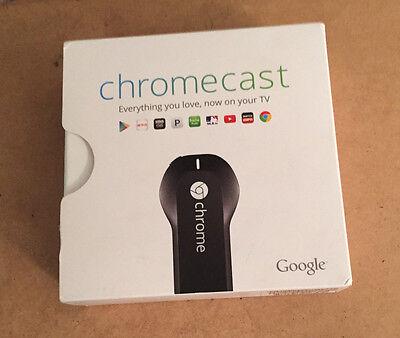 Google Chromecast Digital HDMI Media Streamer
