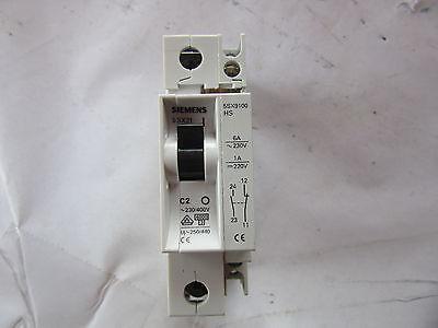 Used 2 Amp #  5SX21-C2 Siemens Circuit Breaker Warranty