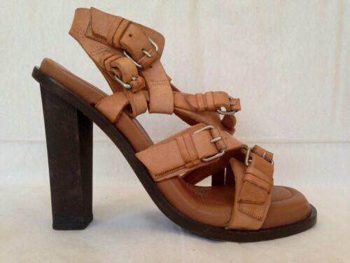 Balenciaga iconic multi-strap buckle tall sandals