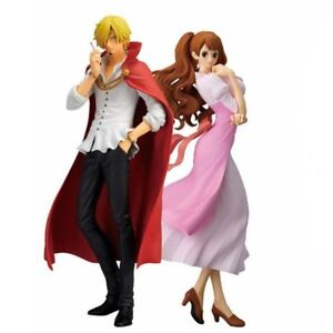 One-Piece-vinsmoke-Sanji-et-Pudding-PVC-Anime-Figure-Collection-Toy-New-In-Box