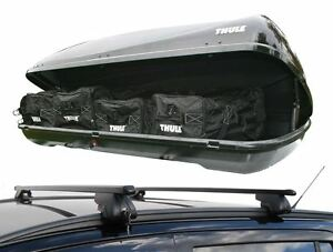 ford focus estate 2011 on roof rack rail bars thule. Black Bedroom Furniture Sets. Home Design Ideas
