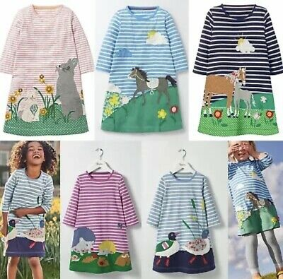 NEW IN Ex Mini Boden Hotchpotch Flower Dresses 2 3 4 5 6 7 8 9 10 11 12Yrs