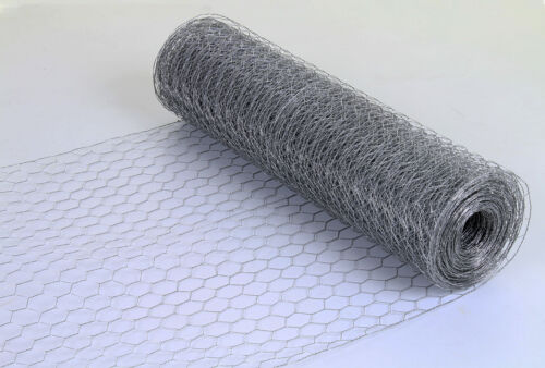 Wire Mesh Galvanised Fencing Chicken Netting Rabbit Fence Pet Garden 25mm//50mm