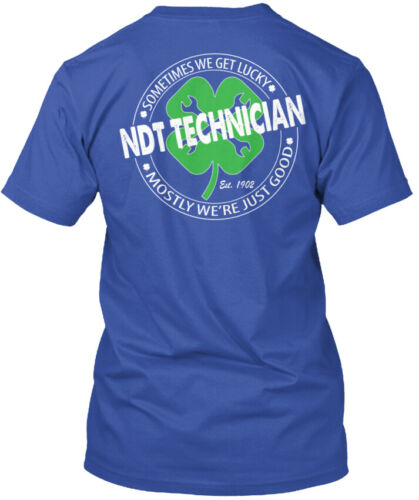 Technician Standard Unisex T-shirt Ndt Were Just Good