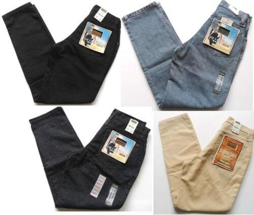 Stone Wash  W 8-14 Indigo WRANGLER Jeans Girls Comfort Fit Denim LUCY Black