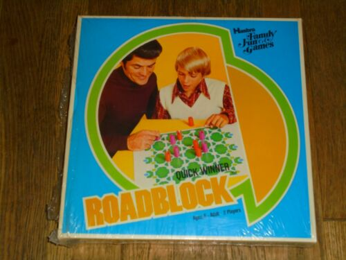 """ROADBLOCK a.k.a. BARRICADE"" strategic planning board game Hasbro, 1976"