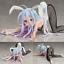 Anime NO GAME NO LIFE Bunny Girl Shiro PVC Figure toy New No Box