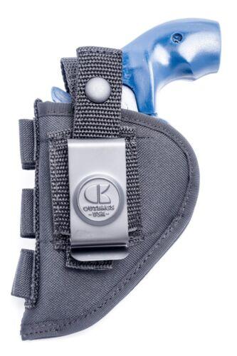 "S/&W 2/"" barrel 5-shot revolversNylon OWB Open Carry Holster w// Ammo Loops"