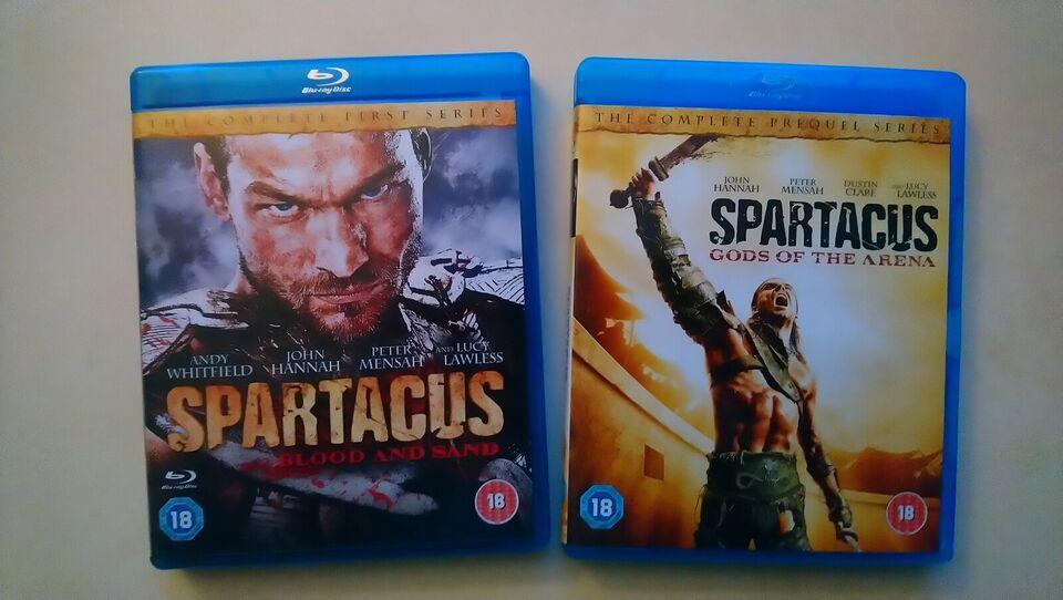Spartacus Sæson 1 og 2, Blu-ray, action