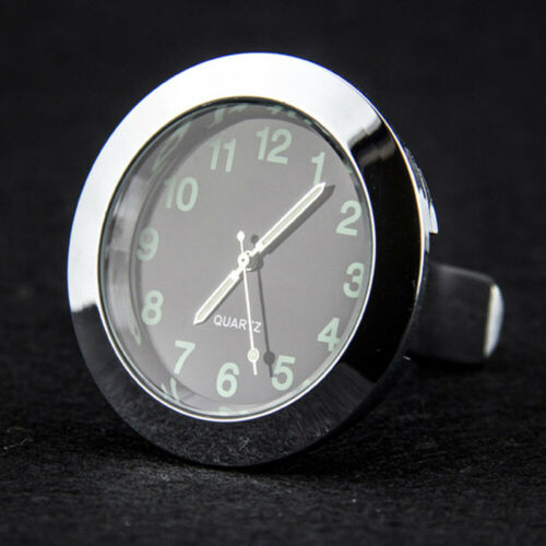 Mini Auto LKW Armaturenbrett Metall Uhr Innen Nachtleuchtende Quarzuhr