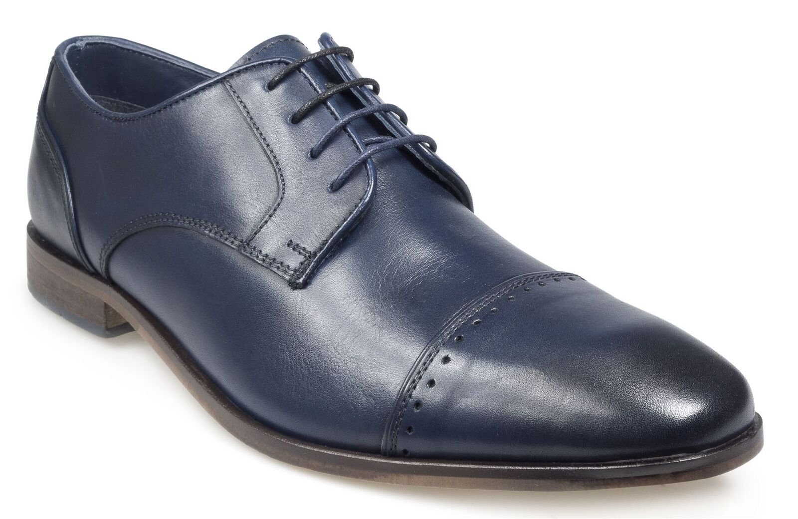 Pod Mens Lace up shoe (Regus) in Navy
