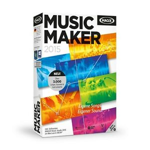 MAGIX-Music-Maker-2015-NEU-amp-OVP