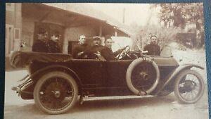 1914-1918-Photo-Military-Ww1-52-Th-Squadron-Poet-Antoine-Pol-G-Brassens