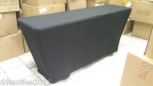 6 classroom spandex buffet table covers wedding event dj craft rh ebay com  buffet table top covers