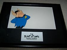 Screen Used Animation Cell from The Flintstones as Star Trek