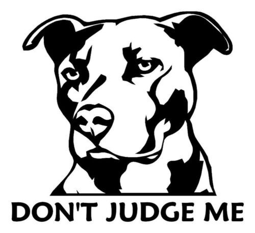 Choose your color! pit bull dog sticker puppy pitbull decal