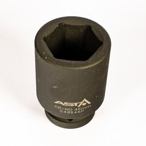 "548634P 34mm 1/"" Dr Long// Deep Impact Socket 6 Point 6PT Heavy Duty 108mm Long"